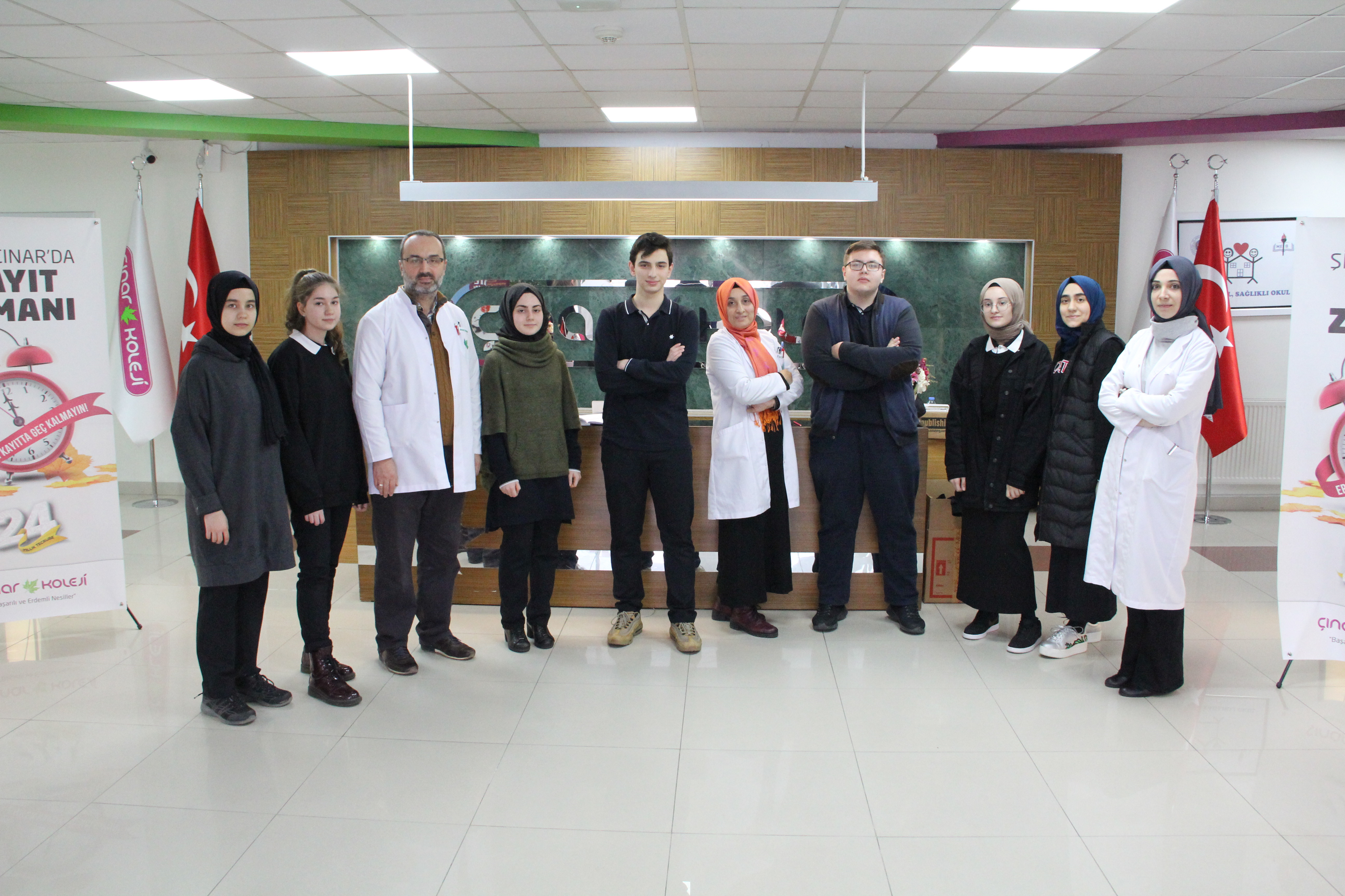 Çınar'dan Dört Proje TÜBİTAK Marmara Bölge Finali'nde