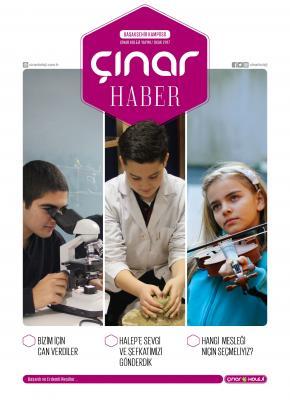 Başakşehir Kampüsü Çınar Haber Dergisi 2017 için tıklayın