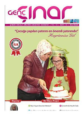 Genç Çınar Dergisi'ne ulaşmak için tıklayınız.