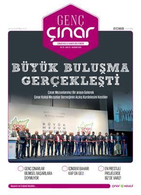 2018 Genç Çınar Haber Dergimize ulaşmak için tıklayın