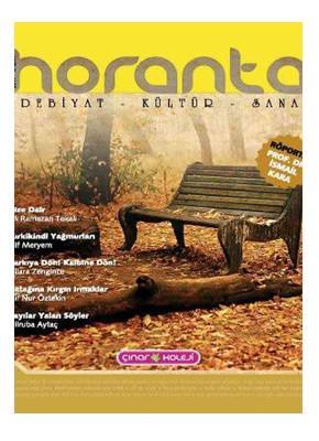 Horanta Dergisi'ne ulaşmak için tıklayınız.