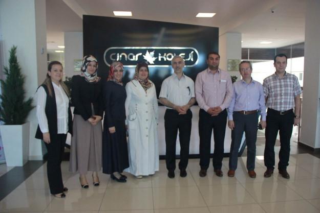 Belediye Başkanından Çınar'a Ziyaret