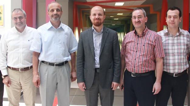 Erdoğan Çınar Koleji'ndeydi