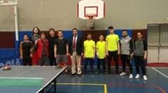 Çınar Koleji Masa Tenisi Takımımızdan İlçe 3. Lüğü