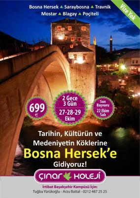 Bosna Hersek'e Gidiyoruz!